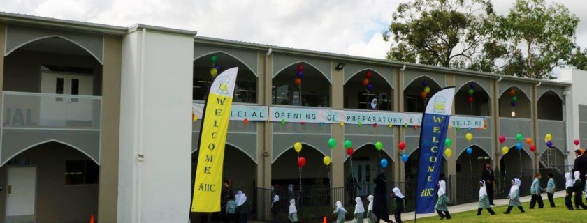 Official Opening of Preparatory and Library Buildings