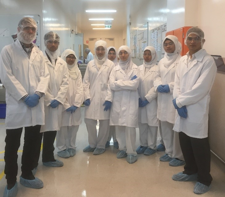 AIIC Chemistry Students 2