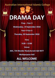 Drama Day @ Durack Campus | Year 4 - Year 6 @ AIIC Durack Campus | Durack | Queensland | Australia