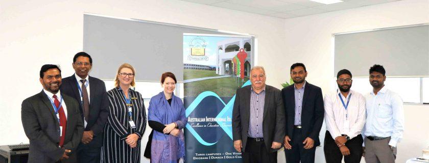 Jessica Pugh MP Visit To Durack Campus