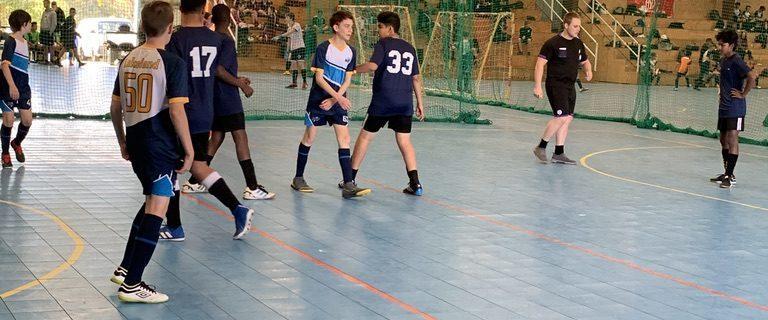 AIIC Senior Boys Win  Brisbane Schools Futsal Challenge